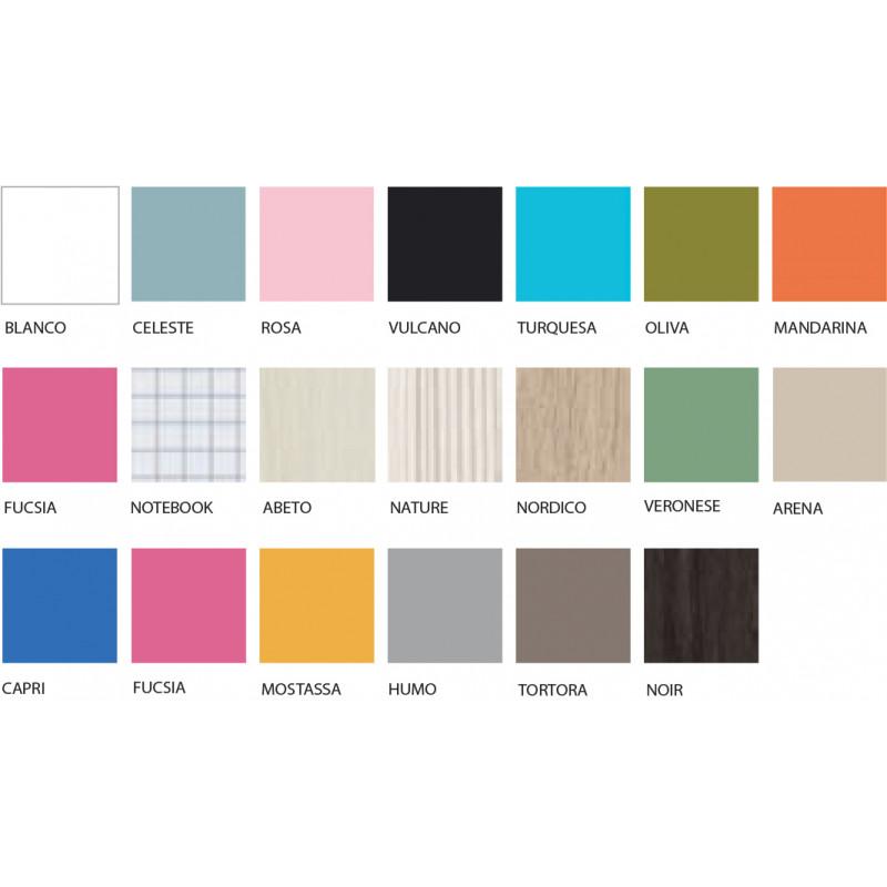 Nieuw Jeugdkamer op maat online kopen?Kies zelf je kleur,Belgische webshop. VI-11